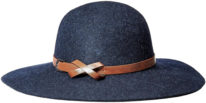 feaf9e865 Echo Design Women's Wool Felt Floppy Hat, Black, One Size at Amazon ...