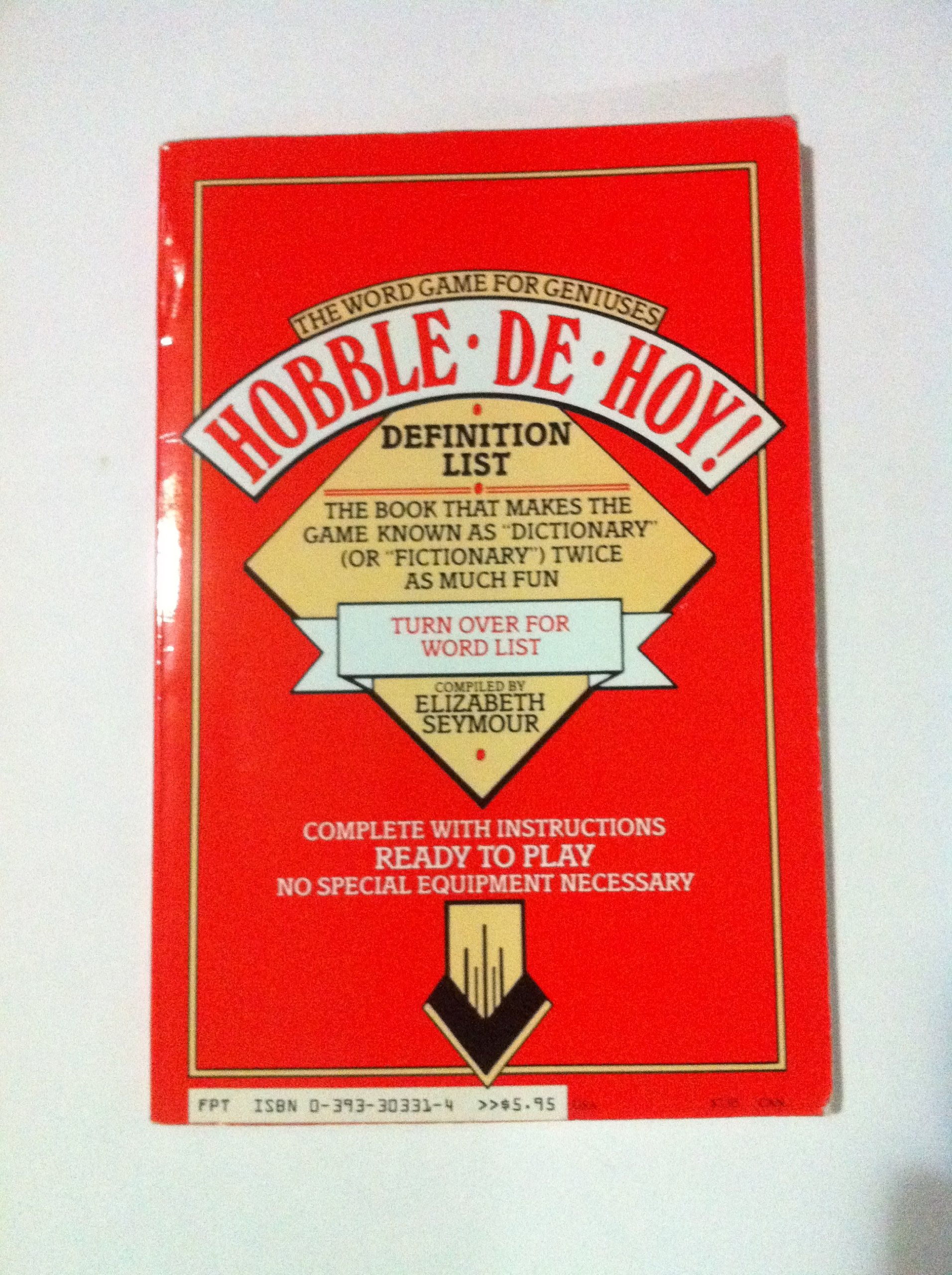 Hobble-De-Hoy! the Word Game for Geniuses: 1001 Curious Words and ...