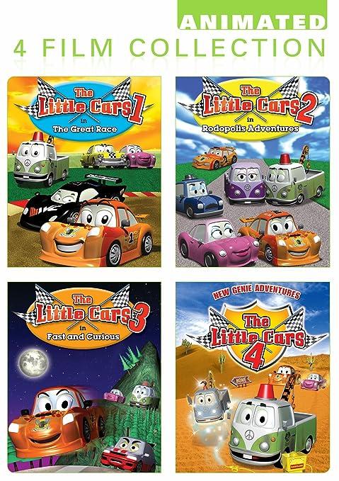 Little Cars 4 Pack [Reino Unido] [DVD]: Amazon.es: Cine y Series TV