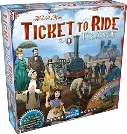 West Of France Map.Ticket To Ride France And Old West Map Collection Six