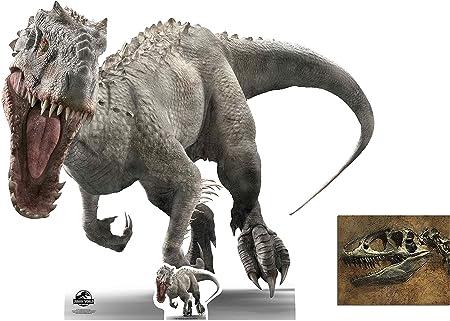 Jurassic World Indominus Rex Dark Portrait Langarmshirt