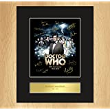 Dr Who Signed 50th Anniversary Collectable Display ALL DOCTORS