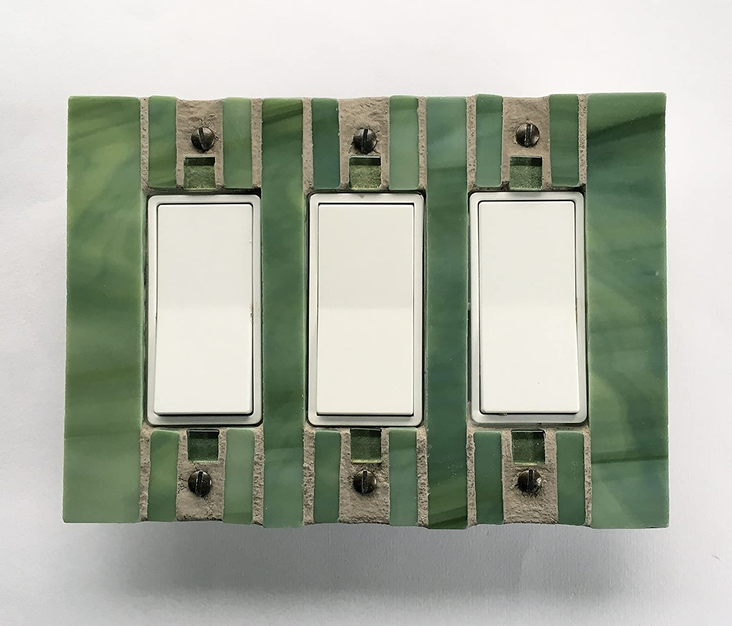 Amazon com: Decora Light Switch Cover, Green Switch Plate