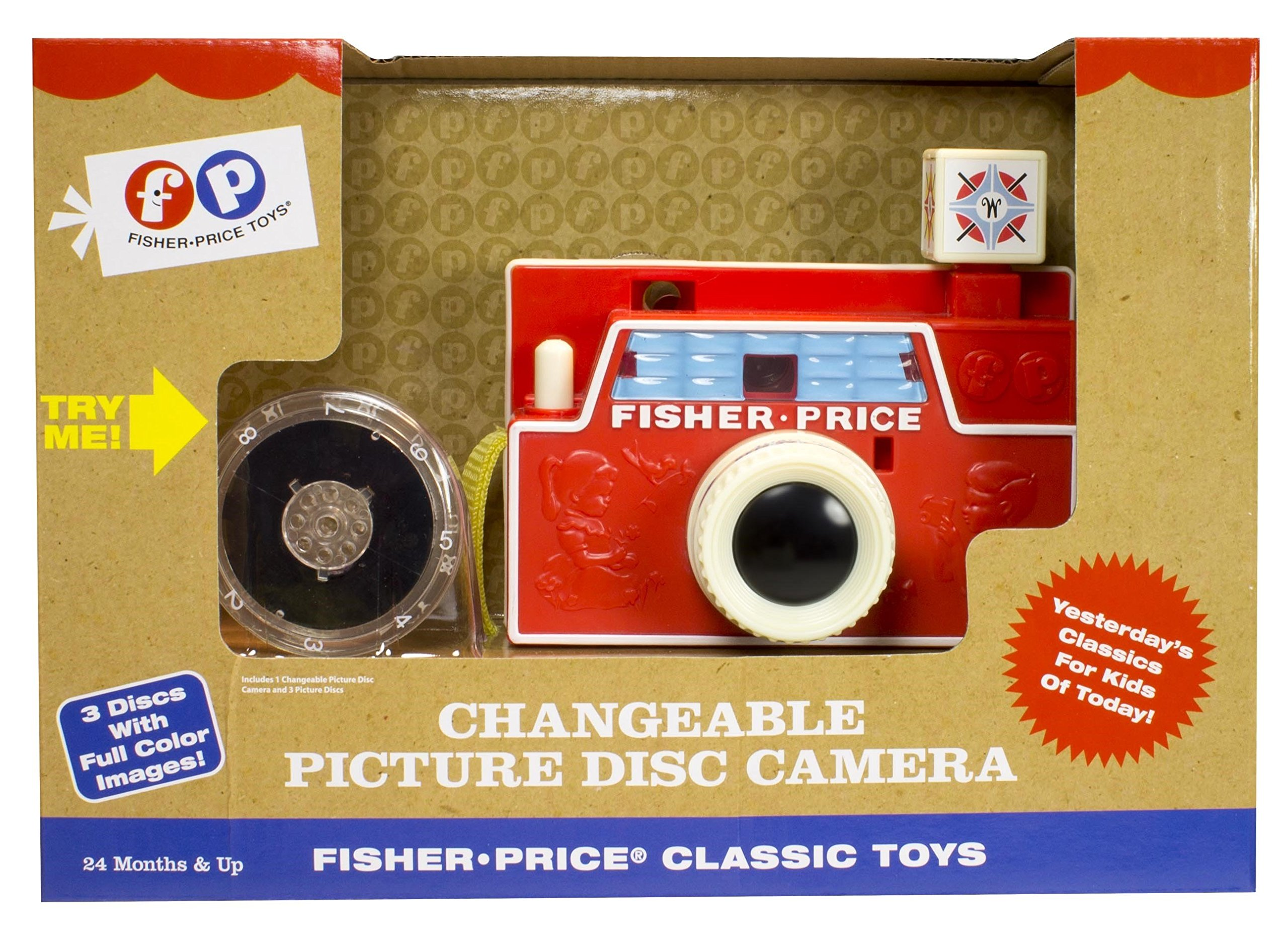 Fisher-Price Classic Changeable Picture Disk Camera by Fisher-Price (Image #2)