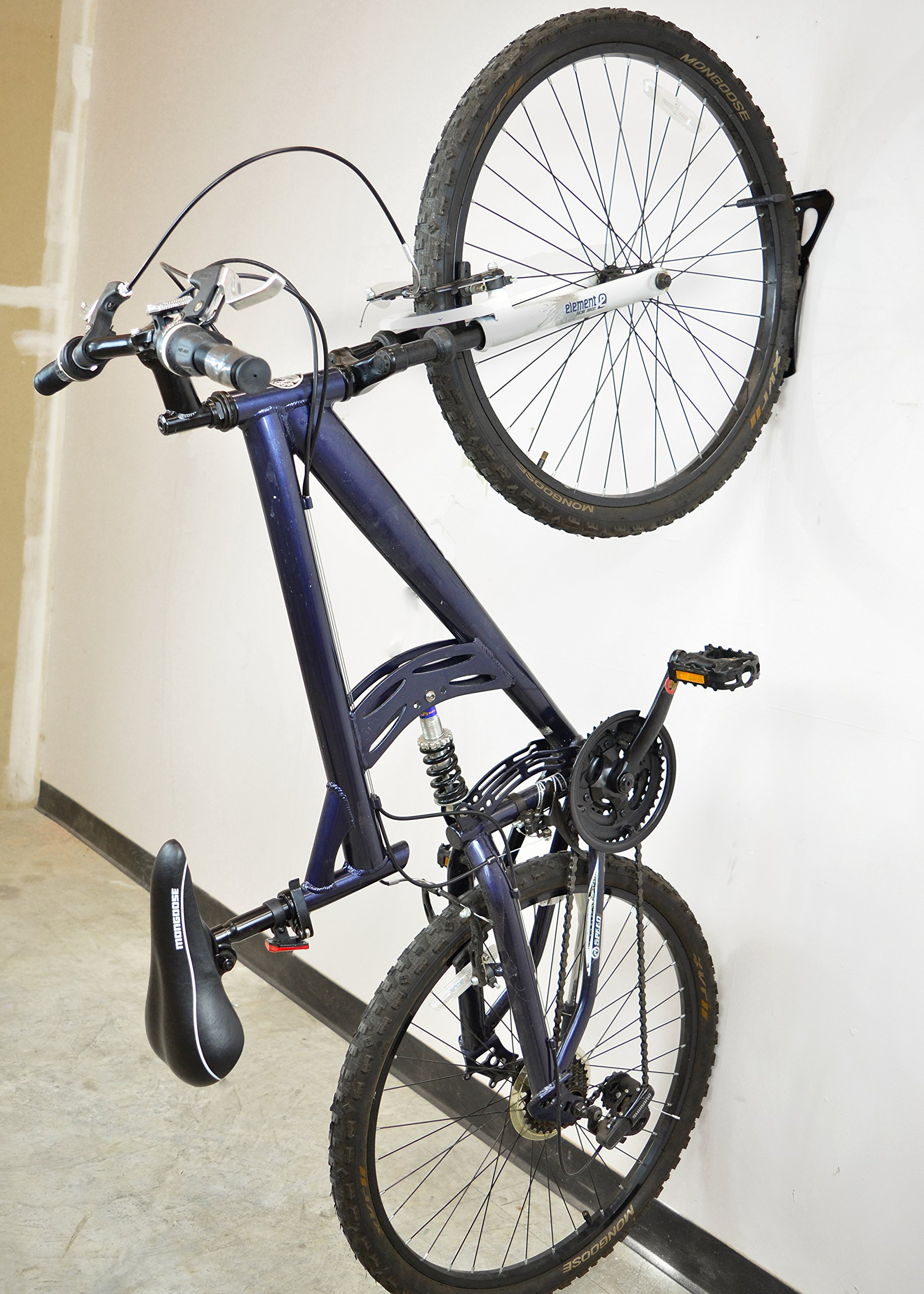 Lumintrail Heavy Duty Bicycle Wall Hanger Vertical Bike Storage Rack by Lumintrail (Image #5)