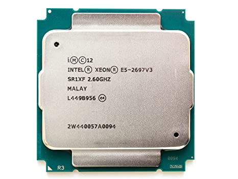 INTEL CM8064401807100 Xeon E5-2697 v3 Fourteen-Core Haswell Processor 2.6GHz 9.6GT/s 35MB LGA 2011-v3 CPU, OEM OEM Components at amazon