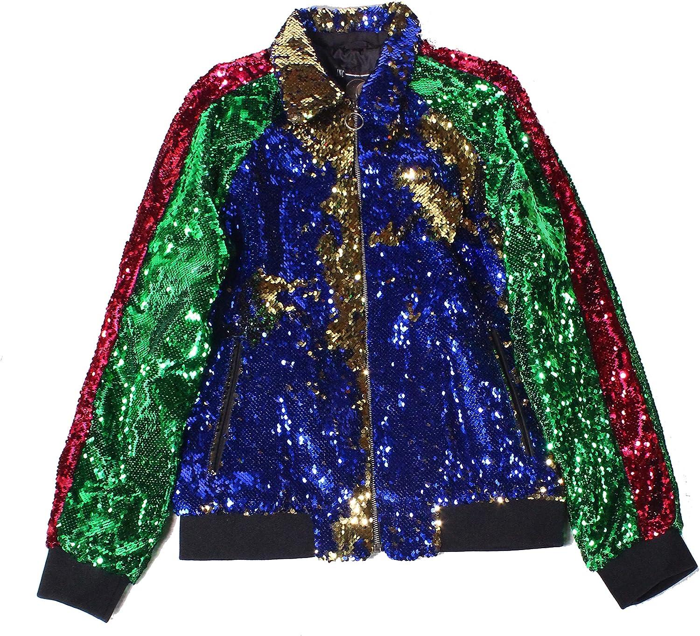 I-N-C Mens Flip Sequin Blazer Jacket