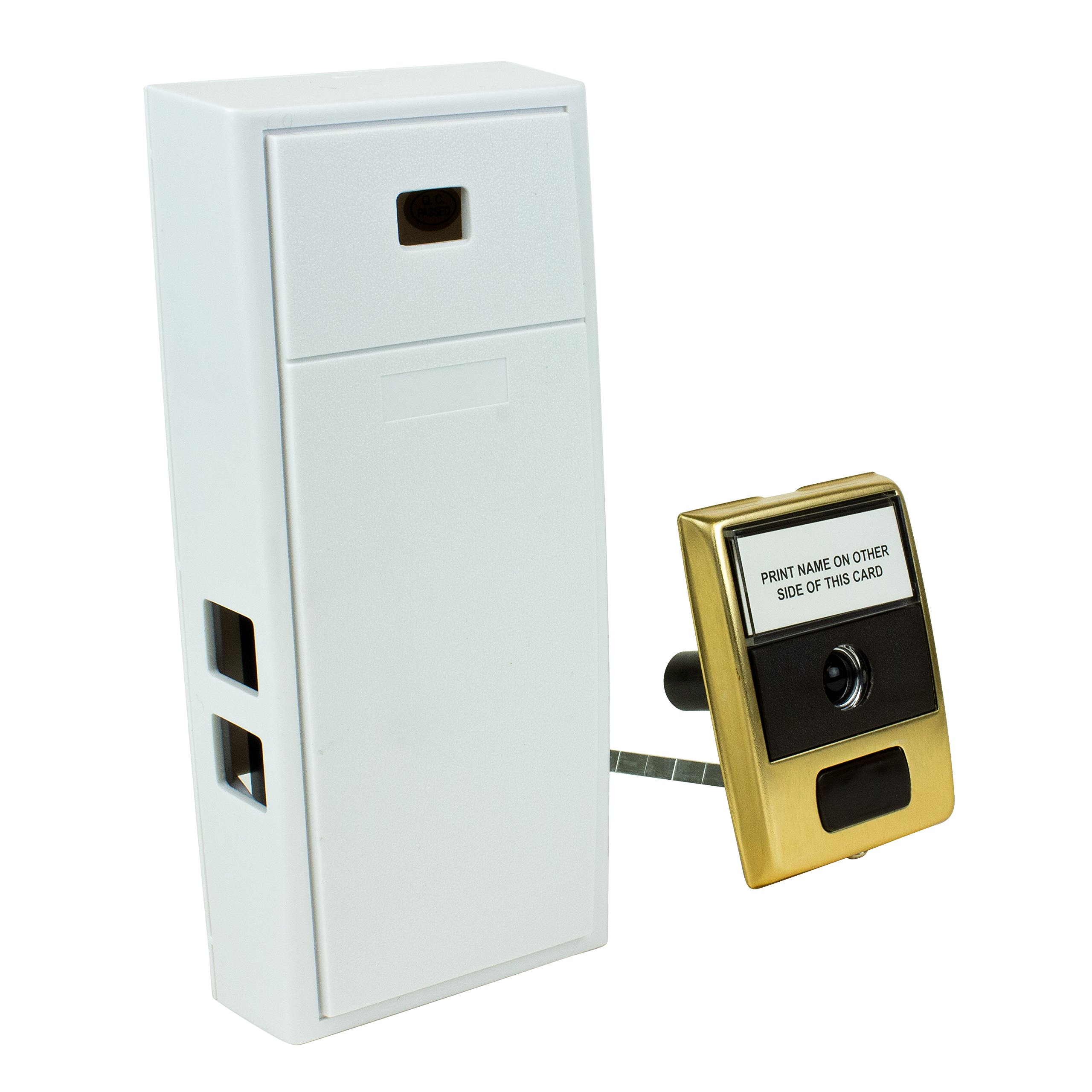 Newhouse Hardware MCHBV Door Chime, One Size, Ivory