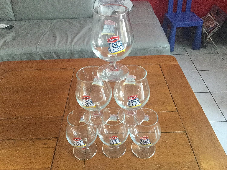 lot de 6 verre ice tea forme ballon 33cl c est les plus beaux neuf