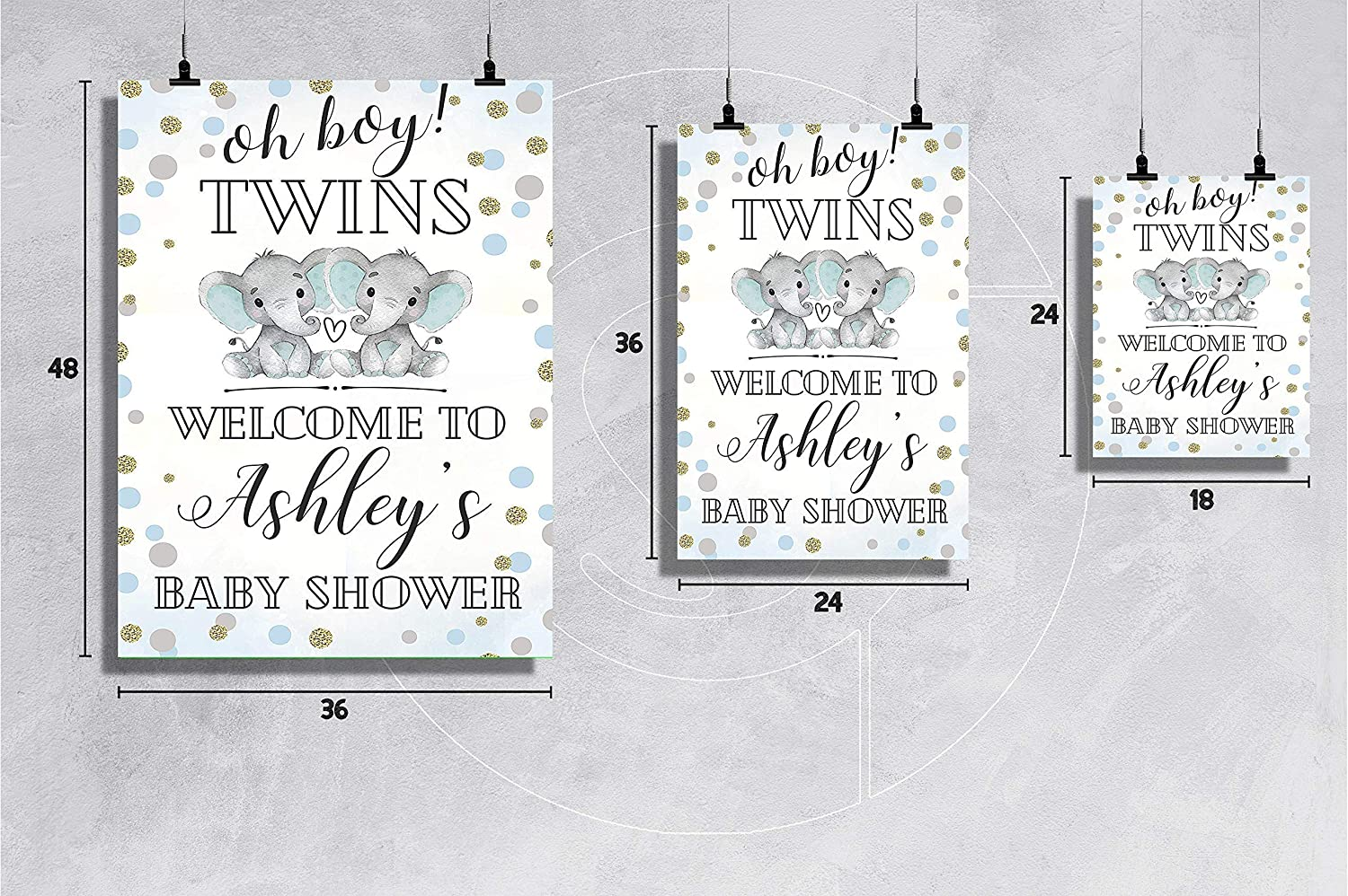 Baby Shower Welcome Poster Welcome Sign Print size 24x36 18x24 Twin Baby Shower Welcome Sign Twin Boys Baby Shower Reception Sign Baby Shower Decor Baby Boys Shower Welcome Sign