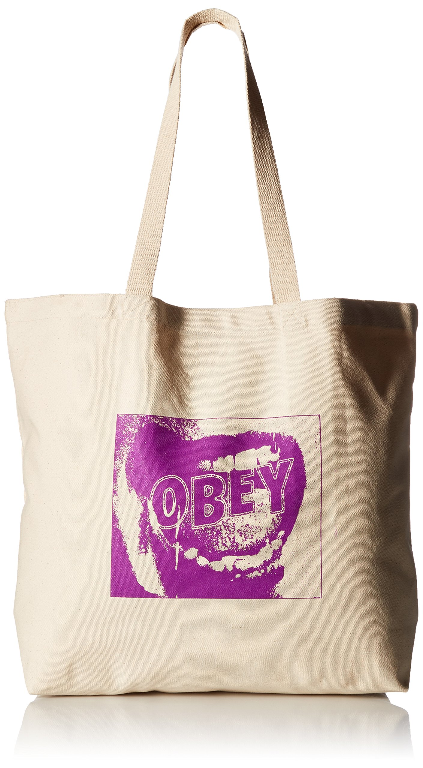 OBEY Men's Screamer Tote Bag, Natural