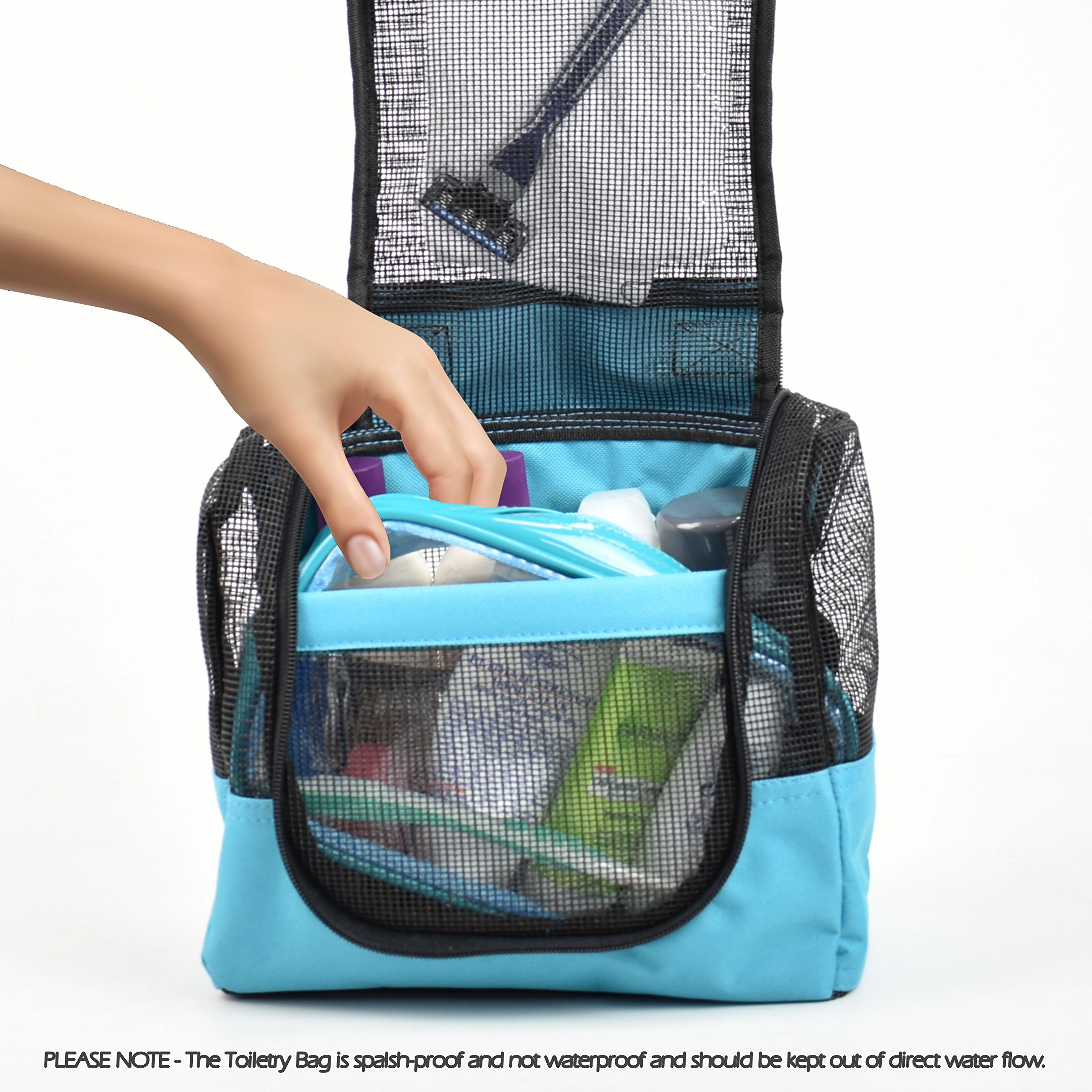Shower Caddy Case Organizer Tote to Hang in the Shower plus Free ...