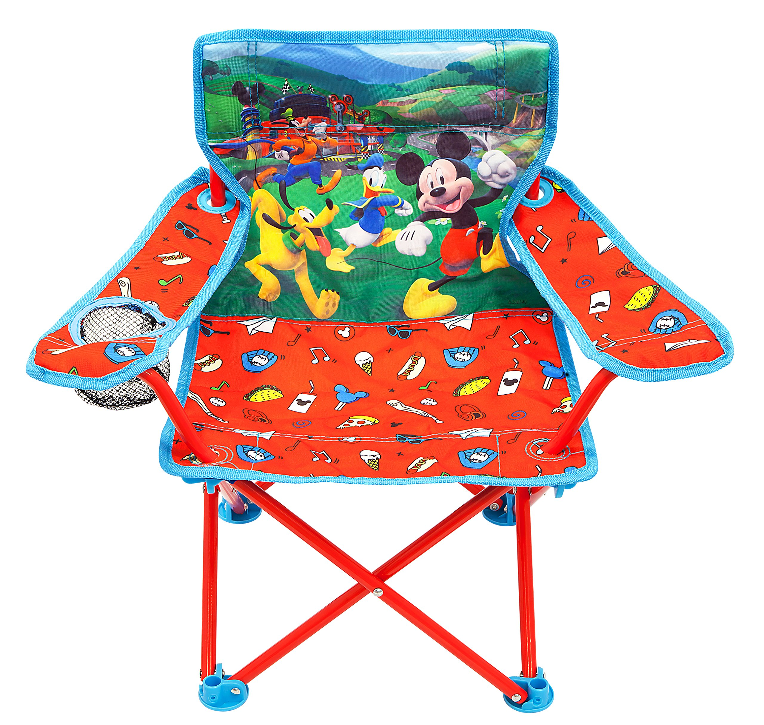 Ordinaire Mickey Mouse Club House Mickey U0026 The Roadster Racers Fold N Go Chair