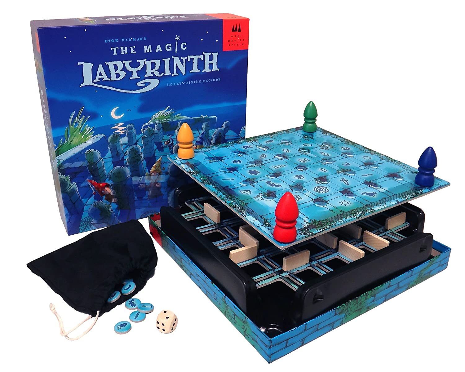 Magic Labyrinth - 3d game for adults and kids; different levels available