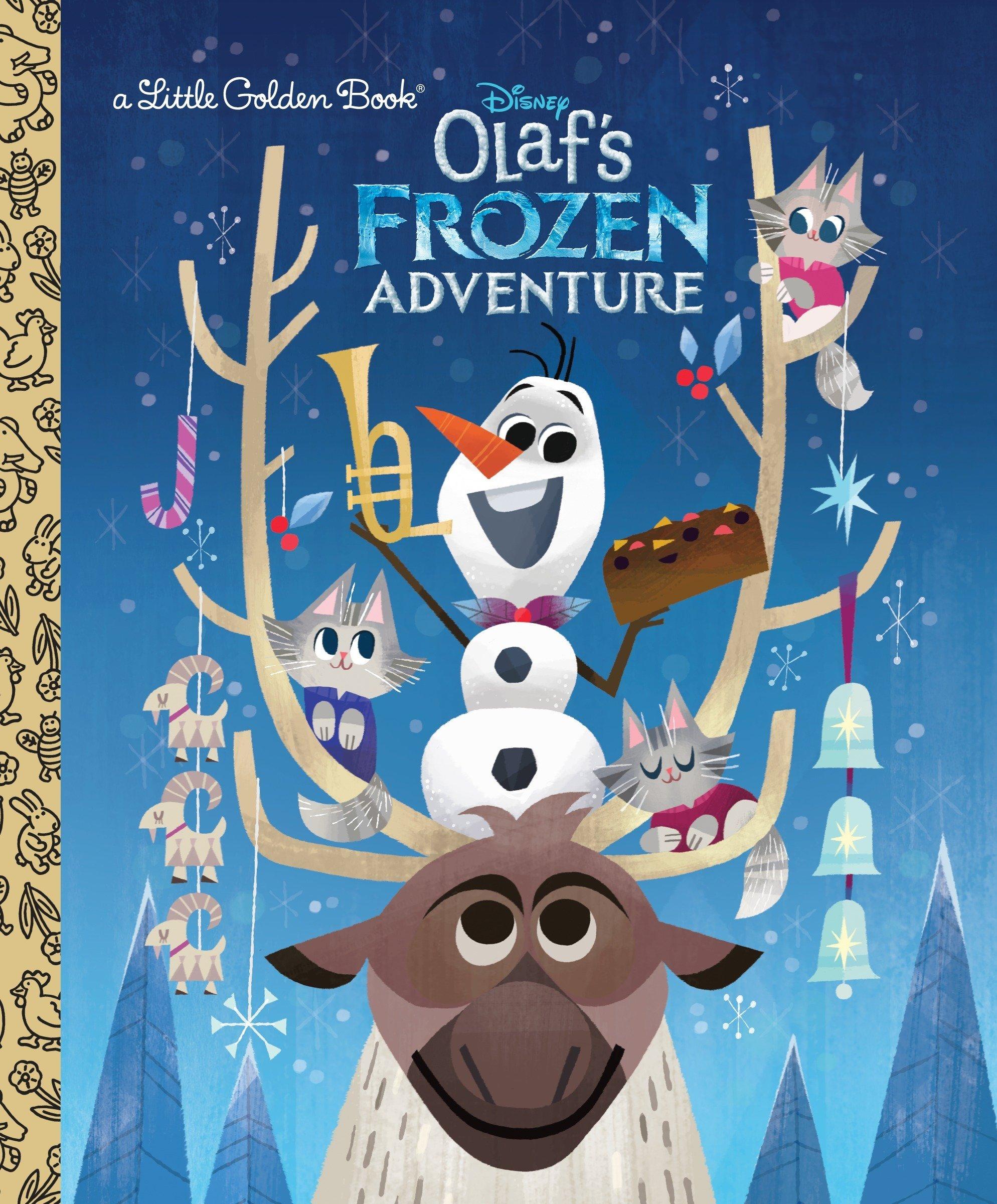 Olaf's Frozen Adventure Little Golden Book (Disney Frozen) PDF