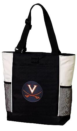 Bolso de uva bolsas Universidad de Virginia Totes playa ...
