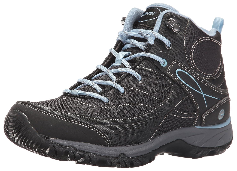 Hi-Tec Women's Equilibrio Bijou Mid I-W Hiking Shoe B01A0FGK4O 10 B(M) US|Black/Forget Me Not