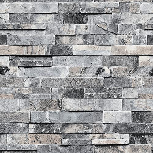 Faux Stone Wall Covering Amazon Com
