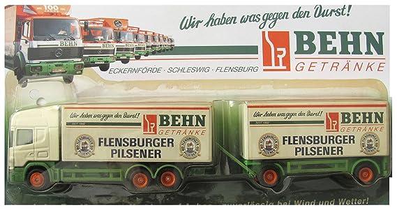 Behn Getränke Nr.02 - Flensburger Pilsener - Scania 124L 420 ...