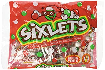 Christmas Candies.Sixlets Christmas Candies 4 Oz