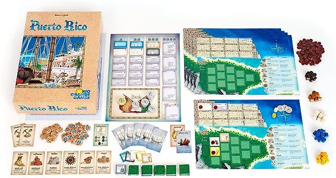 Amazon.es: Rio Grande Games 195 - Juego de Mesa Puerto Rico sobre ...