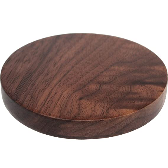Qi Wireless Charger   Walnut Wood Wireless Charge Pad For Qi Enabled  Devices U2013 Wooden