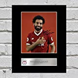 Mohamed Salah Signed Mounted Photo Display Liverpool FC