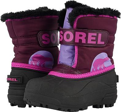 Bottes Sorel Toddler Snow Commander Tropic Pink-deep Blush Ziuxm