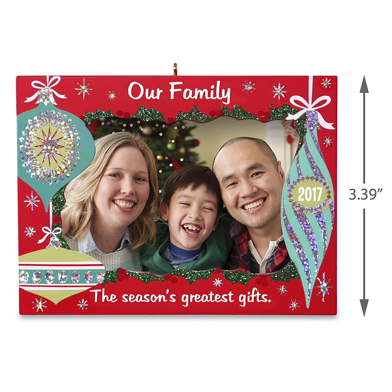 Amazon.com: Hallmark Keepsake 2017 Our Family Greatest Gifts Picture ...