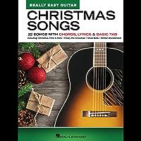 Christmas Songs Songbook - Really Easy Guitar Series: 22 Songs with Chords, Lyrics & Basic Tab