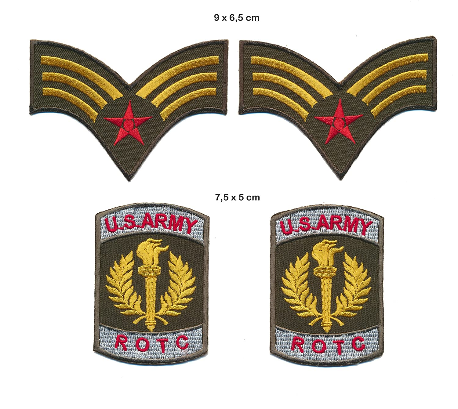 Uniforme Distintivo toppa patch 4  pezzi Emblem Requisite Turbo spedizione DeBeer & Jonckers BV