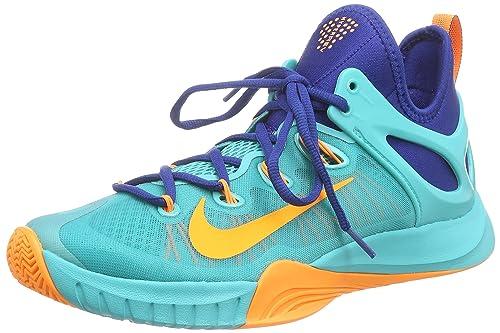 15bdd6770725 Nike Men s Zoom Hyperrev 2015 Lt Retro Bright Citrus Gym Bl Basketball Shoe  8
