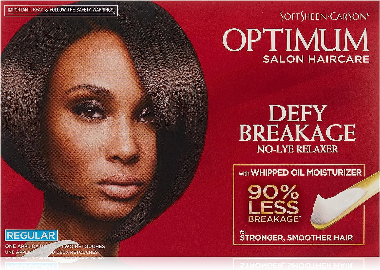 OPTIMUM CARE - Hair Relaxer Kit Regular Strength - 1 Application