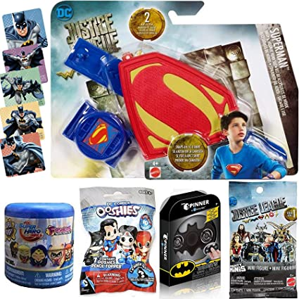 Joker DC Who/'s Who mystery box series 1 set of 6 w//cards w//Superman Batman +