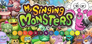 My Singing Monsters: Coloring by Big Blue Bubble