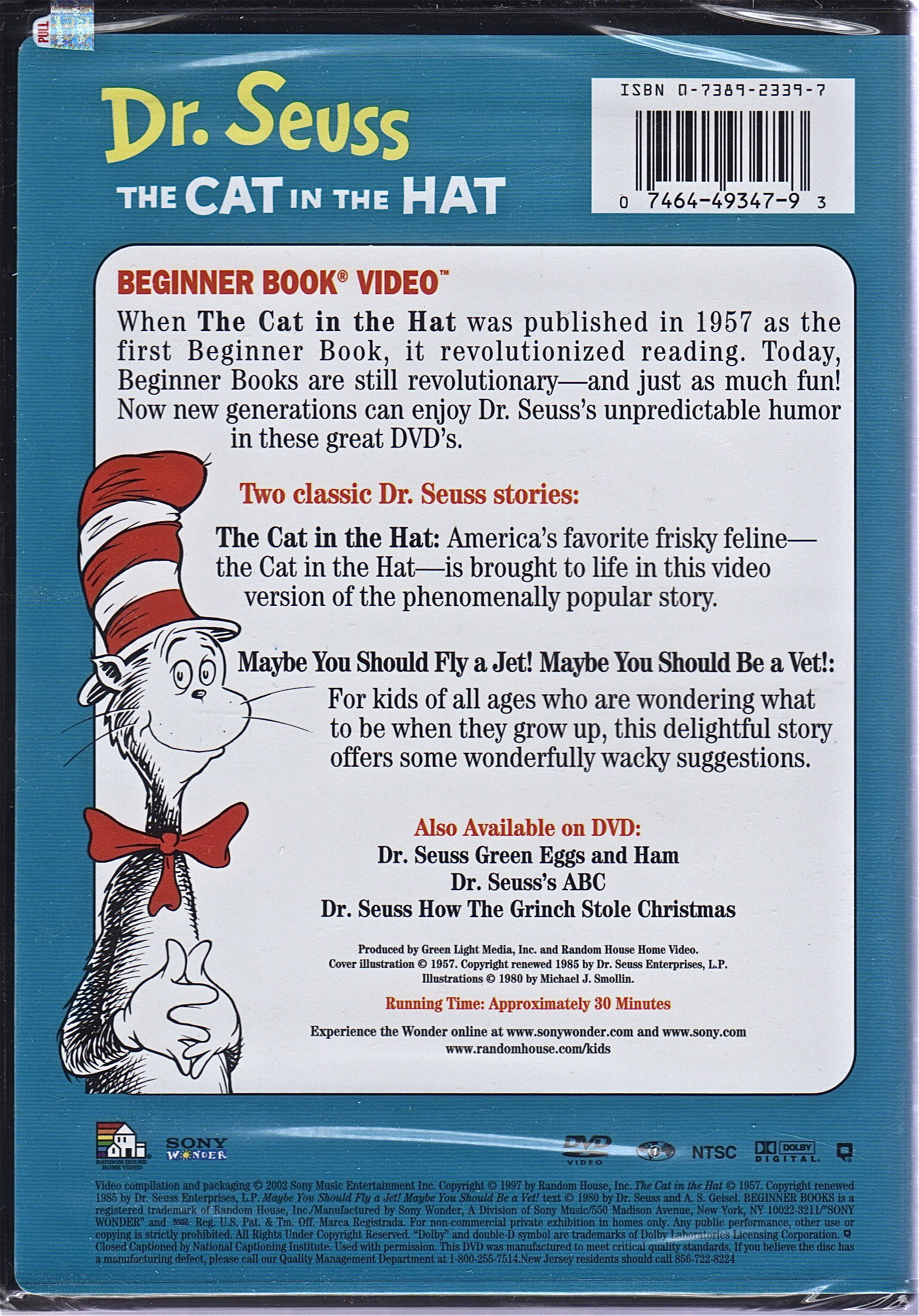 The Cat In The Hat Dr Seuss 9780738923390 Books Amazon Ca