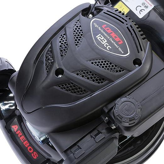 Cortacésped Eco Gasolina Motor Cortacésped 2,2 kW/2,9 PS ...