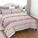 "Boho Design Comforters Twin Size(68""x88"") Comforter Set Down Alternative 2 Pieces ( 1 Comforter + 1 Pillowcases) by Bedsure"