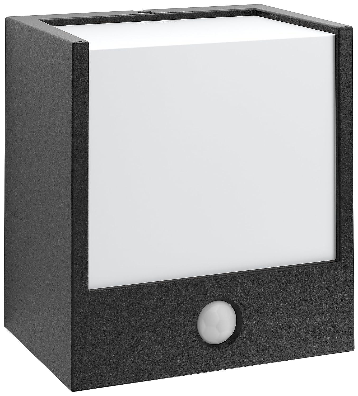 Philips myGarden Wandaussenleuchte, Macaw, ohne Bewegungsmelder, schwarz, 173023016 [Energieklasse A++]