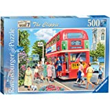Ravensburger Happy Days at Work No.7 - The Bus Conductress, 500pc Jigsaw Puzzle
