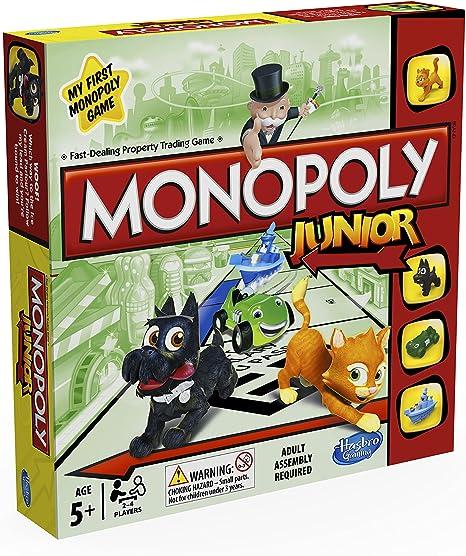 Monopoly - Junior (Hasbro A6984105): Amazon.es: Juguetes y juegos