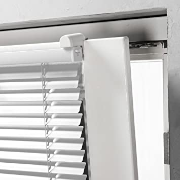 Amazon De Aluminium Klemmfix Alu Jalousie Plissee Fenster Lamellen
