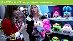 Pillow Pets Nickelodeon Shimmer /& Shine Shimmer Stuffed Animal Plush Toy