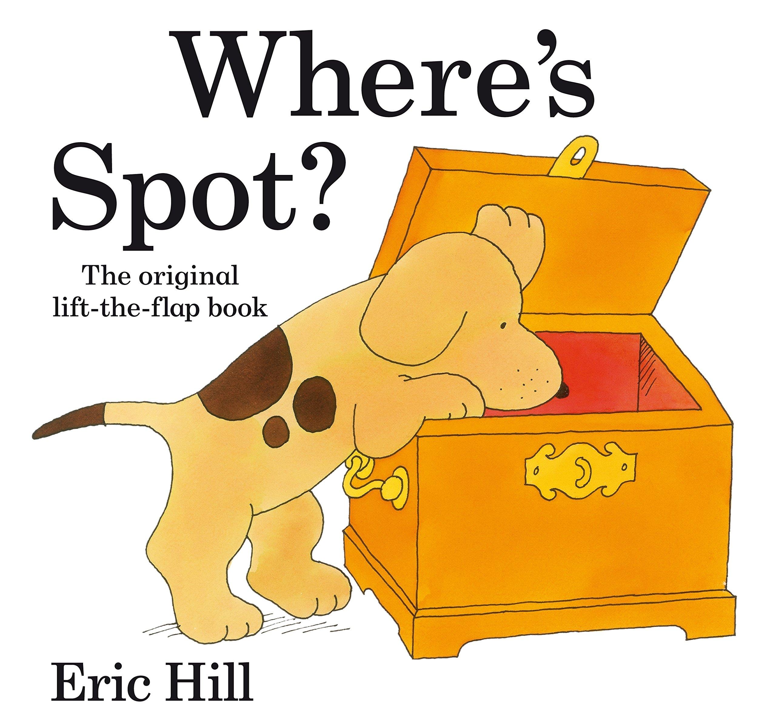 Image for WHERE'S SPOT? ORIGINAL LIFT THE FLAP (SPOT FLAP BOOKS)
