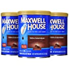 Maxwell House Colombian Ground Coffee (10.5 oz Canisters, Pack of 3)