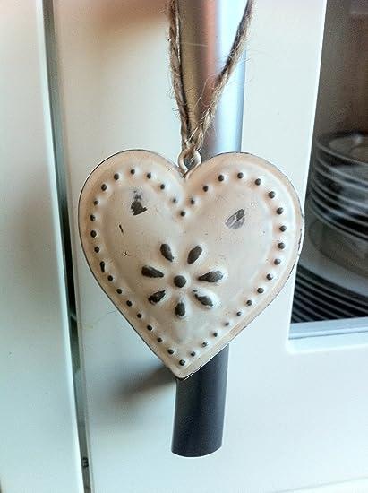 Corazón Colgante Decorativo Sass & Belle Estilo Vintage: Amazon.es ...