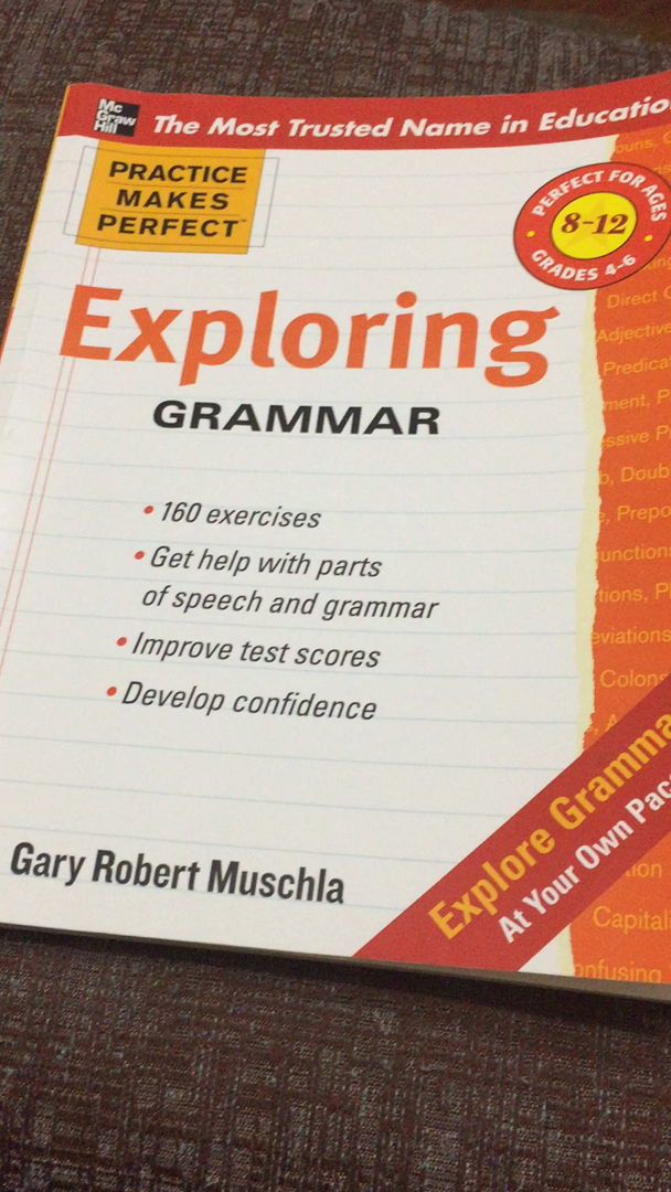 Amazon practice makes perfect exploring grammar practice customer video review fandeluxe Image collections