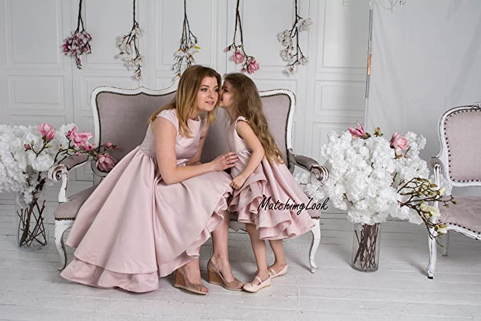 766915e4994b9 Amazon.com: Mommy and Me outfits, Mother daughter matching dress, Matching  mother daughter outfits, Matching Mom and Baby, Mother Daughter Gift, Blush:  ...