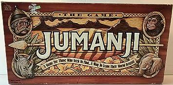 Jumanji The Game by Unknown: Amazon.es: Juguetes y juegos