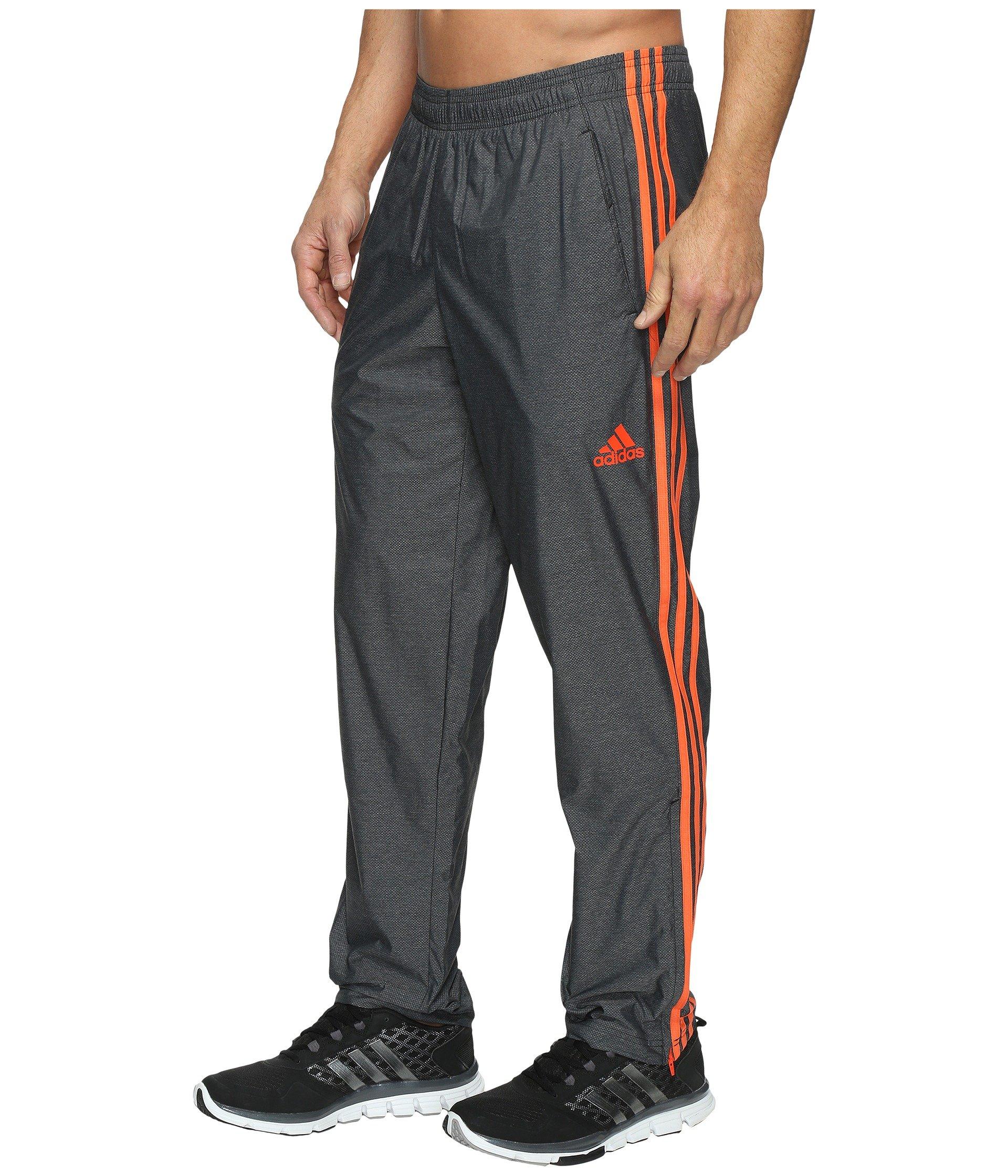 adidas Men's Athletics Essential Pants, Black/Energy, XX-Large by adidas